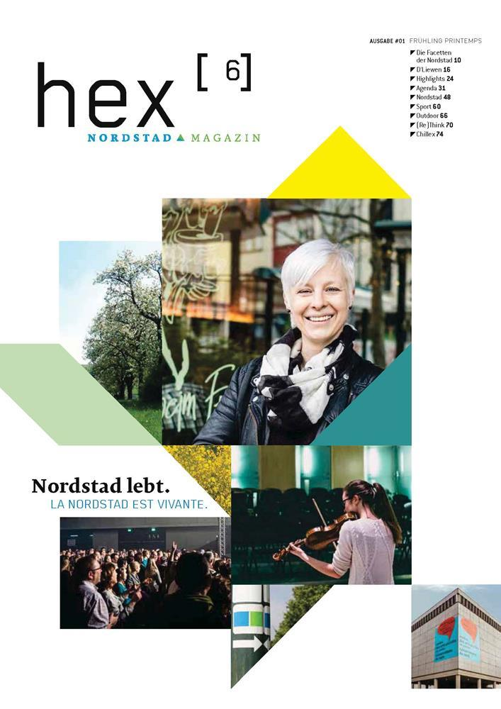 Hex Cover1 - hex cover 1 - Release Nordstad Magazine hex