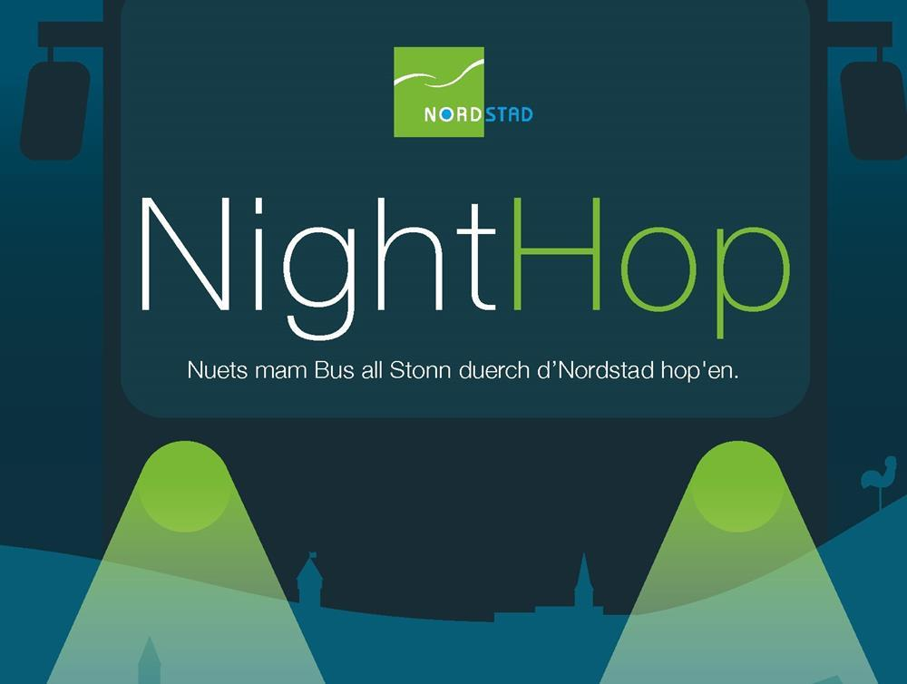 Nighthop - NightHop - Bus de nuit gratuit